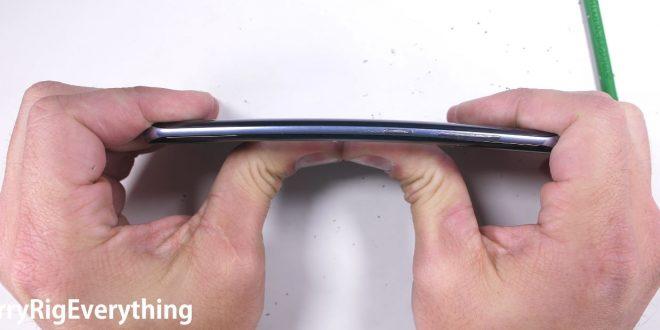 Extrém strapateszten a Samsung Galaxy S8