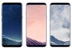 Egyenes kijelzős Galaxy S8 modell bukkant fel