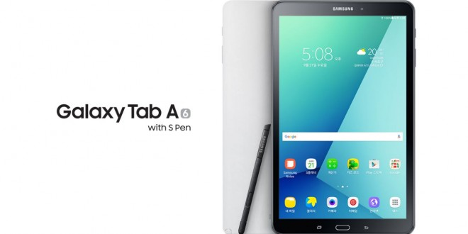 S Pennel is kiadták a Samsung Galaxy Tab A (2016)-ot