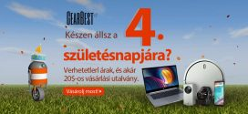GearBest 4. szülinap – Az év talán legnagyobb akciói!