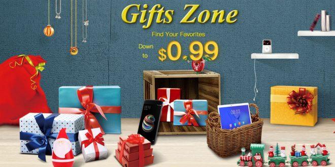 Karácsonyi ajándék vásár a Geekbuying webáruházban