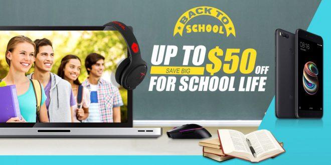 Iskolakezdési akció a Geekbuying webáruházban