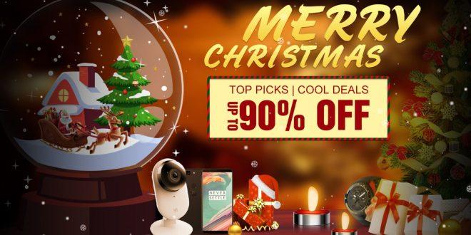 Karácsonyi akciók a Geekbuying weboldalán