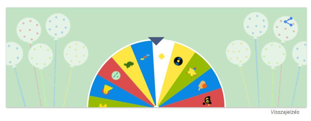 google szülinapi játék Nézd meg mivel kedveskedik a Google a 19. szülinapja alkalmából  google szülinapi játék