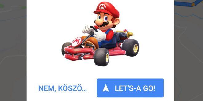 Beköltözött Mario a Google Térképbe, próbáld ki, amíg lehet!