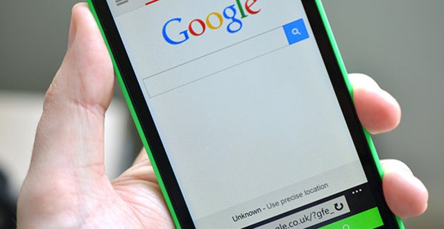 Néhány Lumia mobilon letiltották, hogy a Google keresőjére váltsunk!