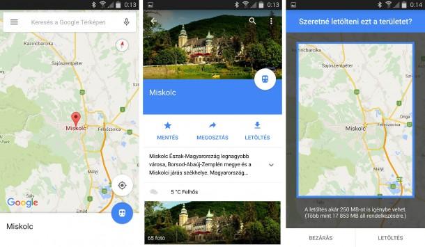 google-terkep-offline-napidroid