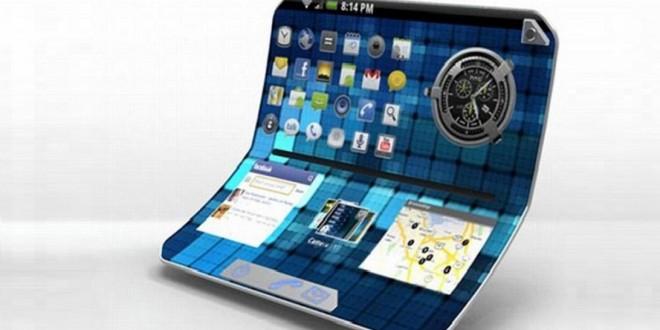 Hajlítható Samsung tablet készülhet beépített billentyűzettel