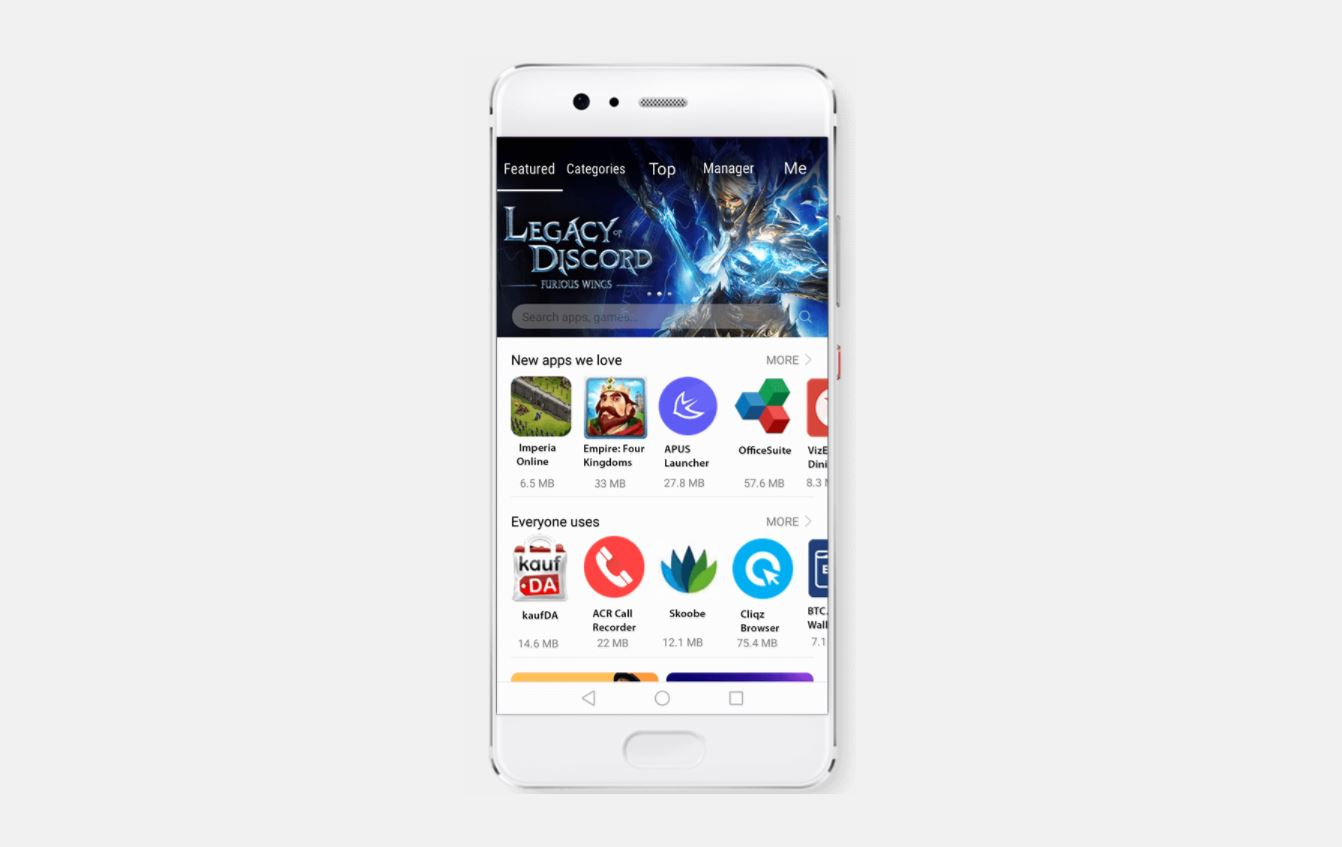 Megjelent a Huawei saját alkalmazásboltja, az AppGallery