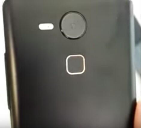 A Huawei-féle Nexus mobil lehetséges hátlapja