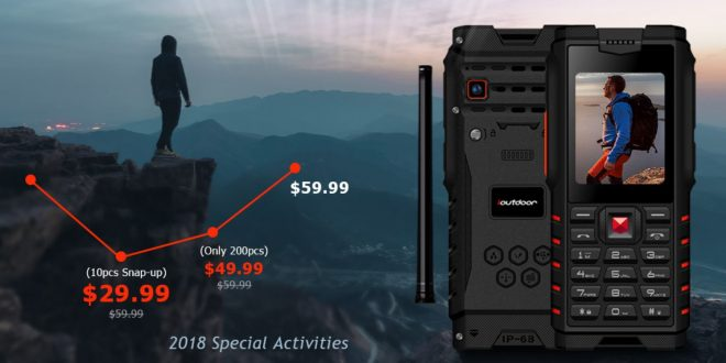 IOutdoor T2 – Filléres strapatelefon Walkie Talkie funkcióval!