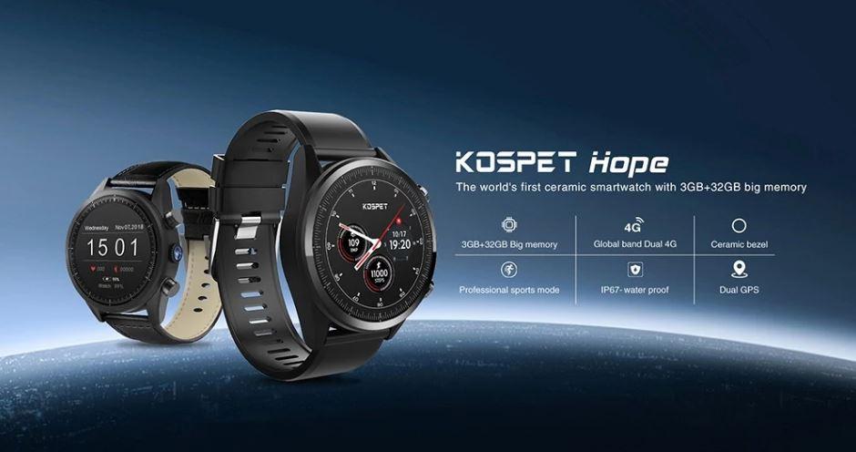 Kospet Hope - 4G-s okosóra 3 GB RAM-mal és 4 magos processzorral ... efbd1c545d