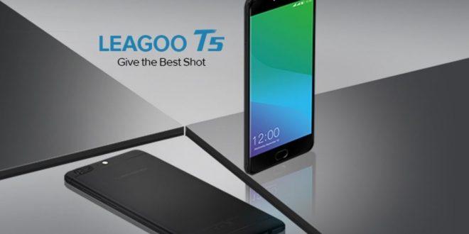 Duál kamera és 4 GB RAM az új Leagoo T5-ben