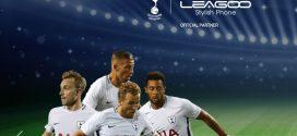A Leagoo a Tottenham Hotspur focicsapat hivatalos partnere lett