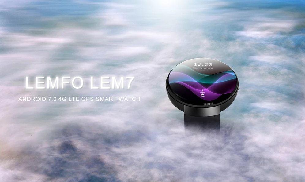 Itt az új Lemfo LEM7 okosóra LTE-vel és GPS-szel - NapiDroid 2cb1cf839d