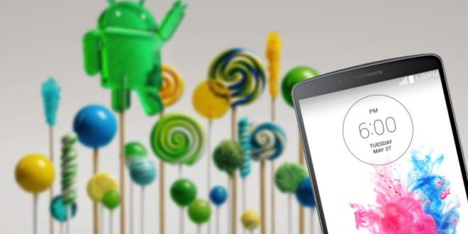Új Lollipop frissítés érkezik az LG G3-hoz