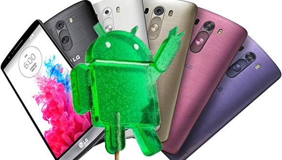 LG G3 Lollipop frissítés – már úton van felénk!