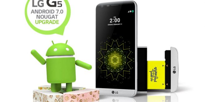 Megindult a Nougat frissítés az európai LG G5 modellekre