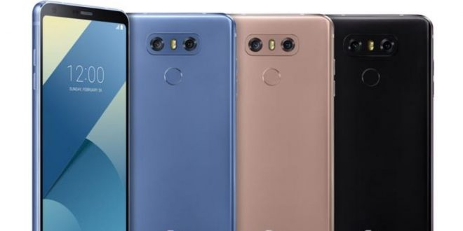 Bemutatkozott az LG G6+