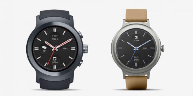 Bejelentették az LG Watch Style és Watch Sport okosórákat