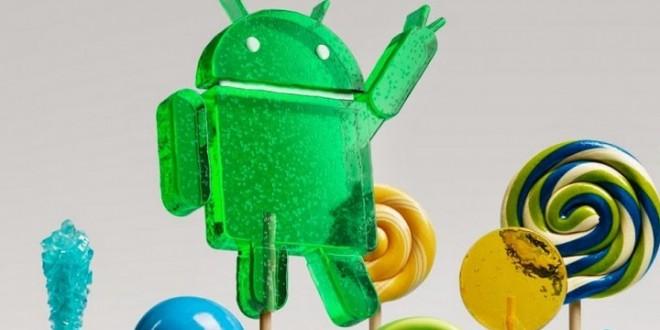Az androidos mobilok harmadán Lollipop fut