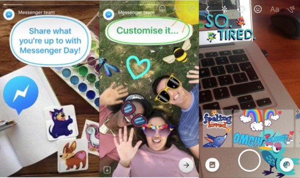Jelenleg a Messenger Dayt tesztelik Lengyelországban, ami ugyanazon a videós-selfie-s-matricás-smileys-24 óra után eltűnős vonalon mozog.