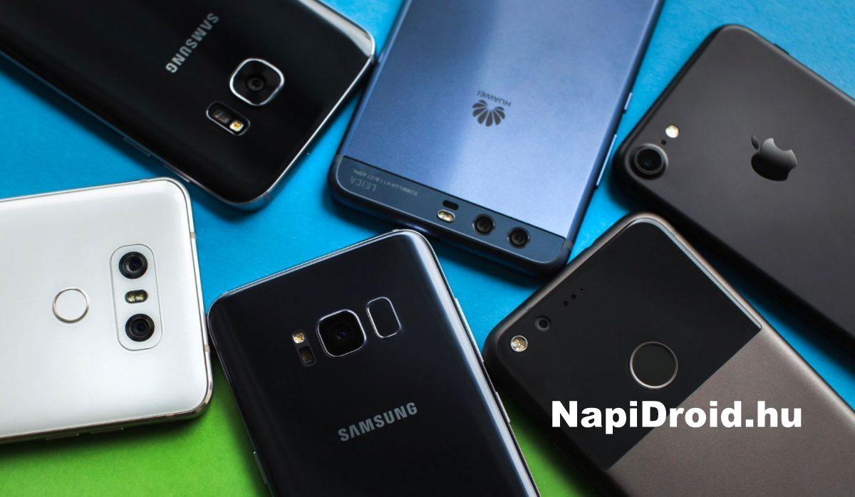 d0c37ffb9564 Ezek a legnépszerűbb mobilok a Napidroid olvasói körében - NapiDroid