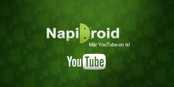 Elindult a Napidroid YouTube-csatornája!