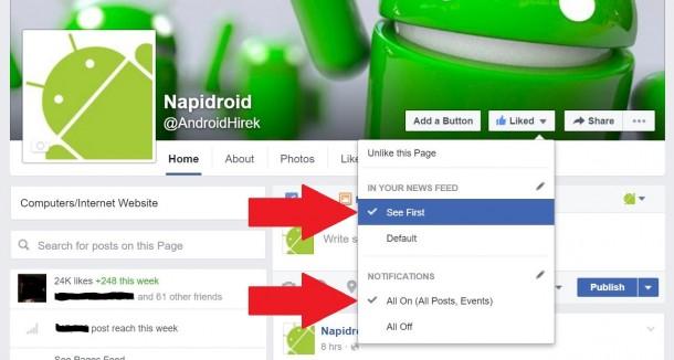 napidroid-facebook-beallitas