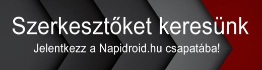 Jelentkezz a Napidroid csapatába!