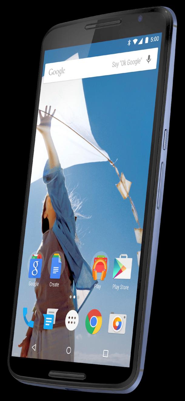 Nexus 6/X forrás: @evleaks
