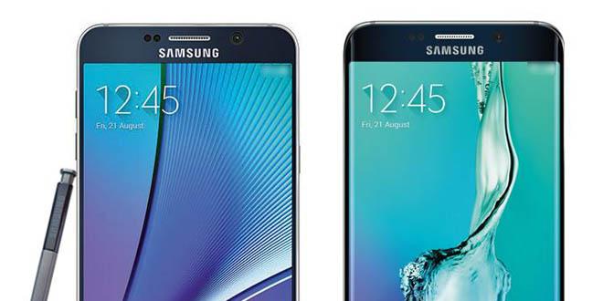 Frissült a Samsung Galaxy Note 5 és az S6 edge+