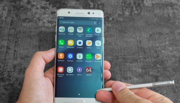Samsung Galaxy Note 7 és S Pen