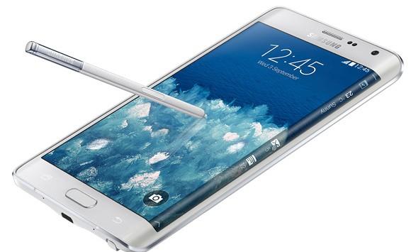 A 2014-ben megjelentetett Samsung Galaxy Note Edge