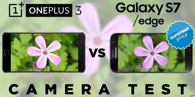 OnePlus 3 vs Galaxy S7 kamera teszt