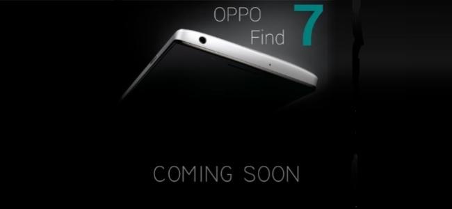 Oppo Find 7 hamarosan – 2K kijelző és 50 megapixeles kamera!?