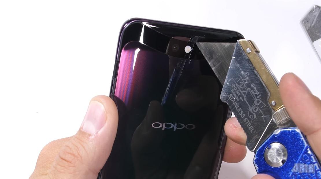 Csúnyán elhasalt a strapateszten az Oppo Find X - NapiDroid f26f077ccb
