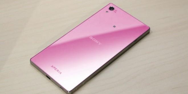 Rózsaszín Sony Xperia Z5 jöhet
