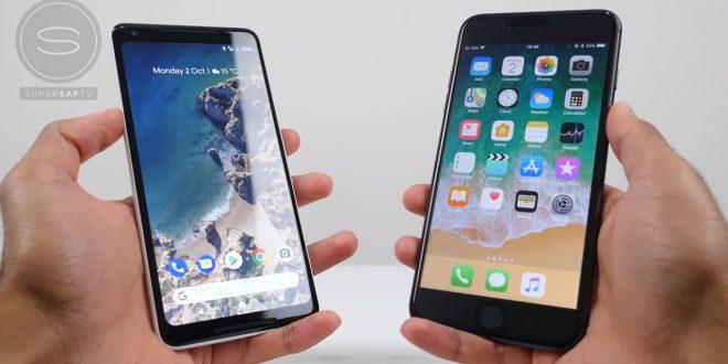 Google Pixel 2 XL vs. iPhone 8 Plus összehasonlítás