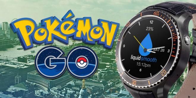 Pokémon GO egy Android okosórán