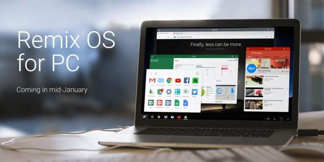 Ingyen tölthető a számítógépekre szánt Android rendszer, a Remix OS
