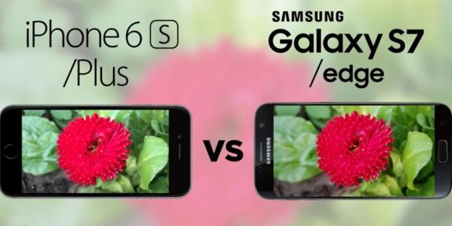Samsung Galaxy S7 vs iPhone 6s kamera teszt