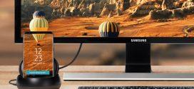 Képeken az új Samsung DeX Pad, ami a Galaxy S9-cel együtt jön
