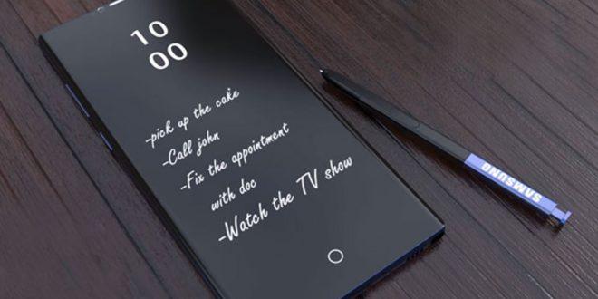 Máris felbukkant a Samsung Galaxy Note 9