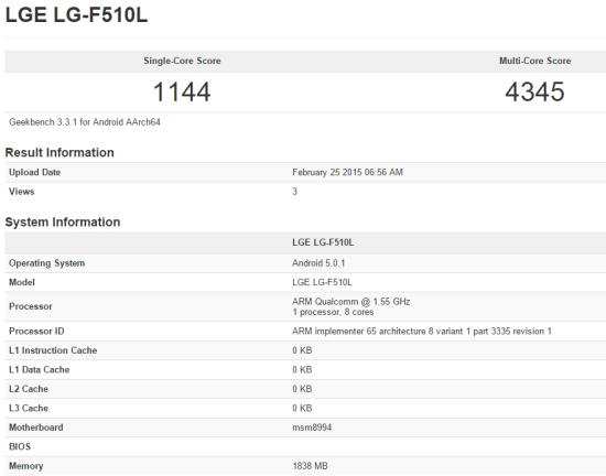 A Qualcomm Snapdragon 810 eredményei