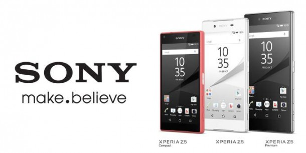 A Sony Xperia Z5 család