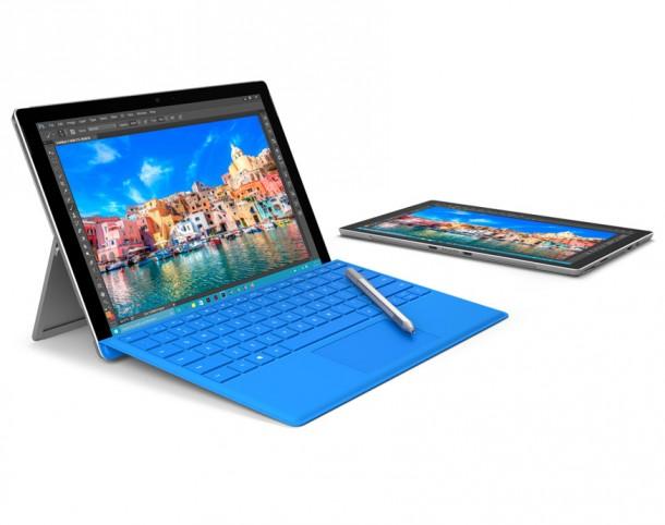 A Microsoft Surface Pro sorozat a legismertebb példa hibrid tabletekre