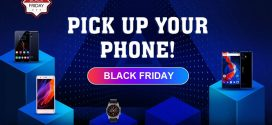 Black Friday okostelefon akciók a Tomtop weboldalán