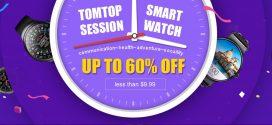 Okosóra akciók a Tomtop weboldalán