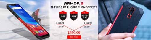 Megjelent az Ulefone Armor 6